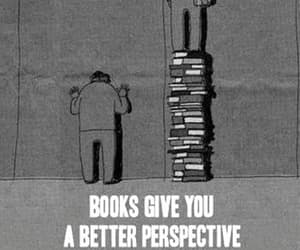 book, perspective, and quotes image