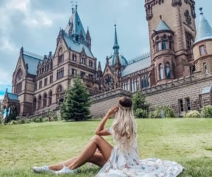 chateau, harry potter, and travel image
