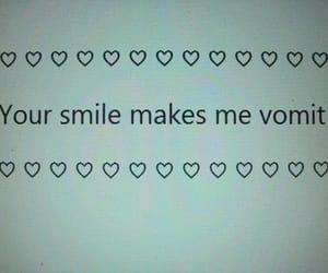 smile, vomit, and grunge image