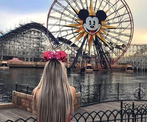 attraction, disney, and usa image