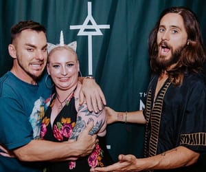 30 seconds to mars, shannon leto, and echelon image