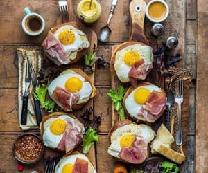 breakfast, healthy, and eggs image