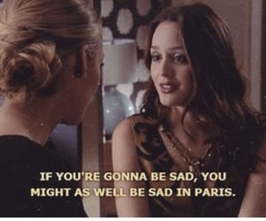 gossip girl, paris, and quotes image
