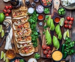 food, tacos, and healthy image