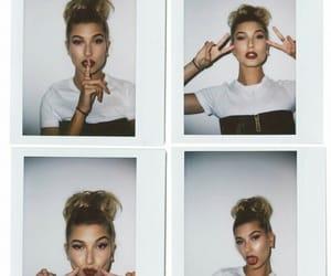 hailey baldwin, polaroid, and beauty image