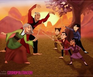 disney, family, and grands-parents image