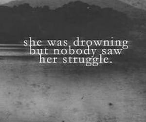 deep, depression, and drowning image