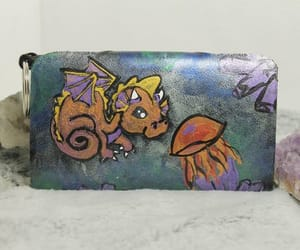 dragon, hand painted, and key chain image