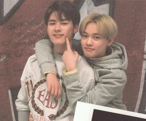 nct, chenle, and kun image