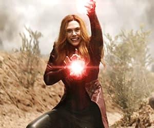 elizabeth olsen, gif, and scarlet witch image