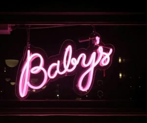 baby, pink, and neon image