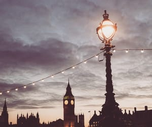 london, love, and city image