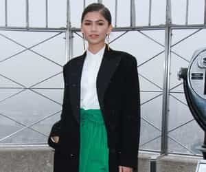 empire state building, zendaya, and ralph lauren image