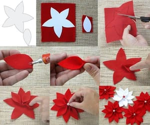 flowers, diy, and red image