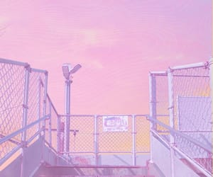 aesthetic, pink, and anime image