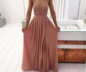dress, girl, and outfit image