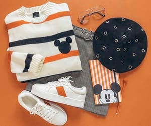 disney, orange, and outfit image
