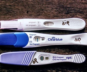 pregnant, pregnancy test, and embarazada image