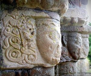 doorway, faces, and ireland image