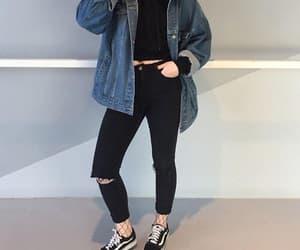 black, fashion, and kfashion image