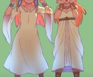 anime girl, zelda skyward sword, and fanart image