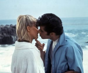 grease, couple, and love image
