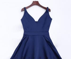 short prom dresses, blue homecoming dress, and cute homecoming dress image