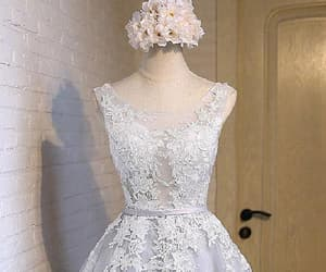 lace prom dress and prom dress short image