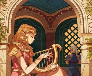 fanart, the legend of zelda, and videogames image