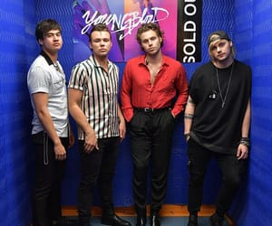 rock band, youngblood, and luke hemmings image