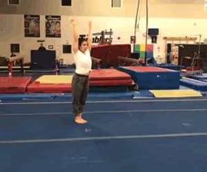 cool, gymnast, and shushunova image