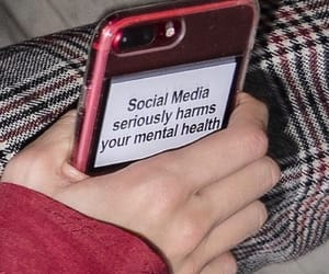 aesthetic, red, and social media image
