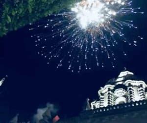 fireworks, gif, and lights image