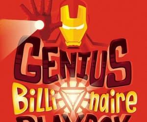 genius, ironman, and billionaire image