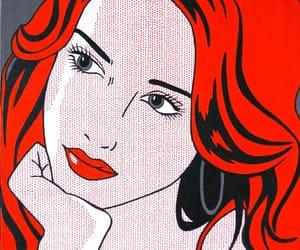 art, lips, and pop art image