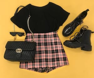 black, casual, and wear image