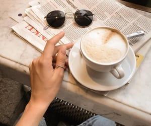 coffee, girl, and life image