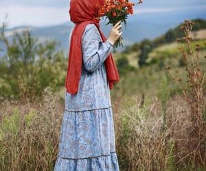 autumn, Beautiful Girls, and blue image