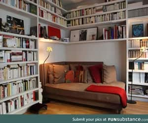awesome, home, and library image