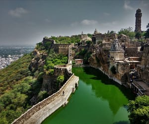 forts, india, and palaces image