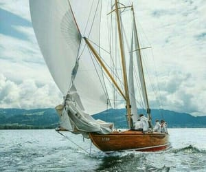 barco, mar, and vela image