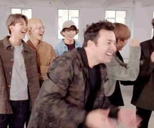 gif, jimmy fallon, and bts image