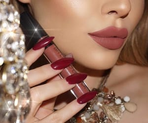 beuty, makeup, and nails image