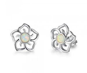 earrings, spring, and fashion image