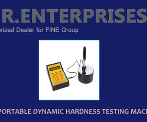 portable hardness tester, impact testing machines, and micro hardness testers image