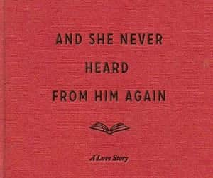 quotes, book, and red image