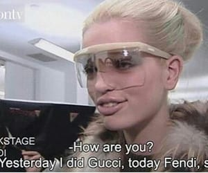 gucci, model, and fashion image