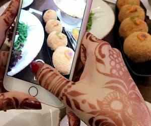 desserts, food, and henna image