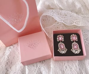 pink, jewelry, and pastel image