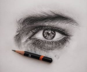 draw and eye image